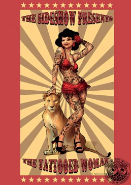 Illustration Fantasy Adulte Pin-up, Marylou Deserson
