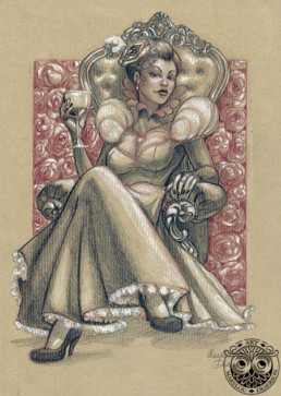 Illustrations Fantasy Adulte 2, Marylou Deserson
