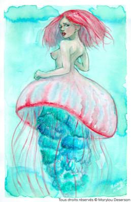 Illustrations Fantasy Adulte 10, Marylou Deserson