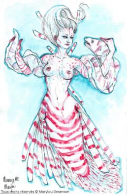 Illustrations Fantasy Adulte 2, Marylou Deserson