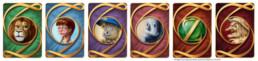 Illustration dos cartes, Jeu Magicien d'Oz, Marylou Deserson
