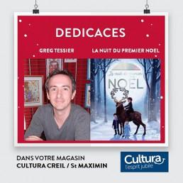 Article Dédicaces au magasin Cultura de Creil